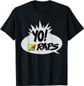 MTV YO! MTV Raps Comic Book Talk Bubble T-Shirt