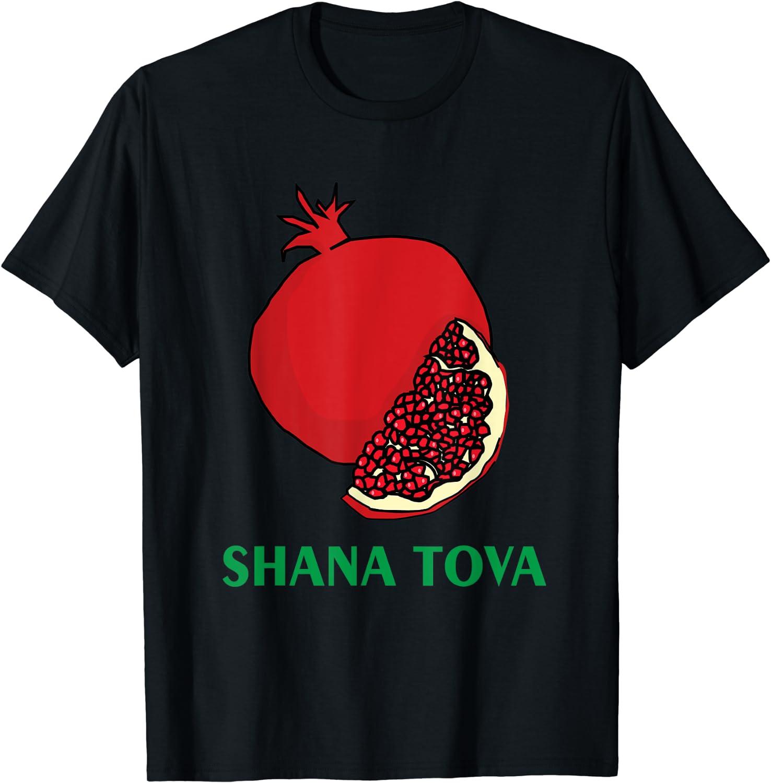 Rosh Hashanah T-Shirt Shana Tova Jewish Holiday Gift