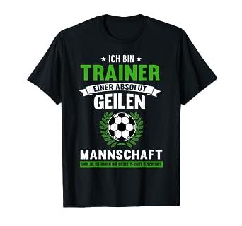 Herren Fussball Trainer T Shirt Lustiges Fussball Coach Geschenk