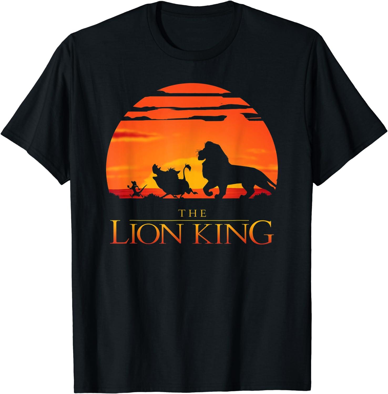 Disney Lion King Classic Sunset Walk T-Shirt