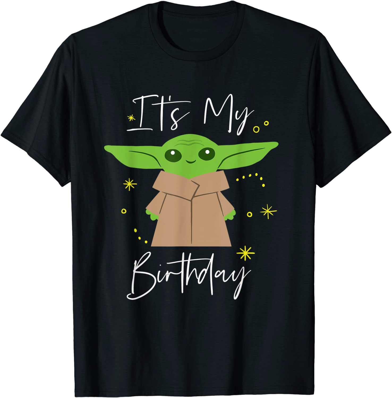 Star Wars The Mandalorian The Child It's My Birthday T-Shirt