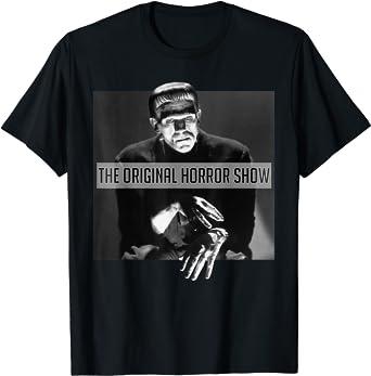 Universal Monsters Frankenstein The Original Horror Show T-Shirt