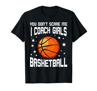 Amazon.com: You Dont Scare Me I Coach - Camiseta deportiva ...