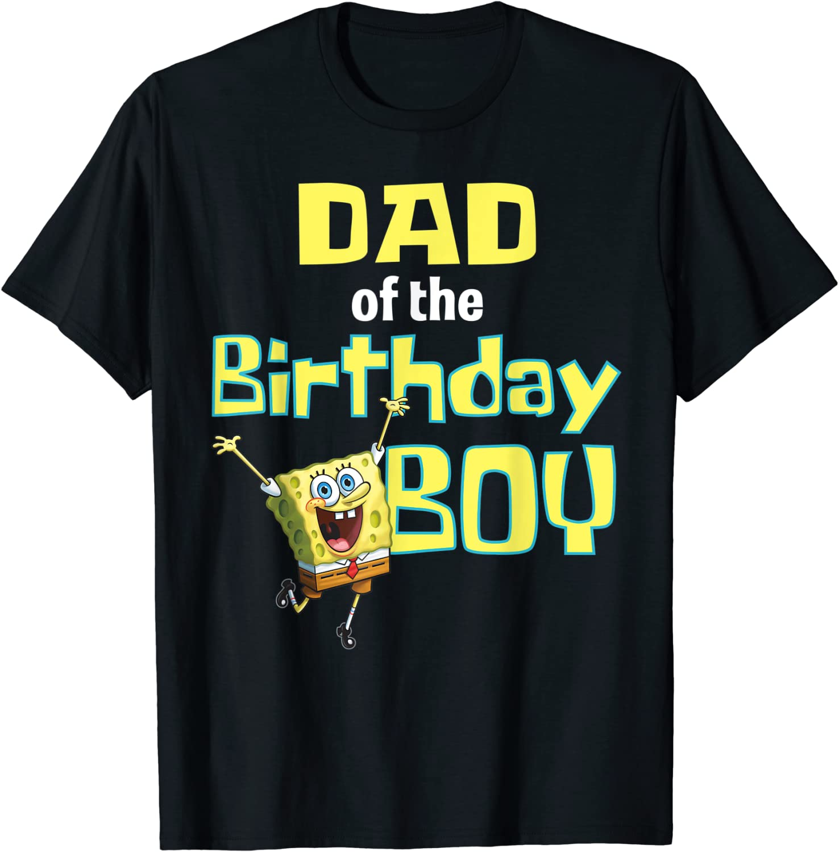 Mademark x SpongeBob SquarePants - SpongeBob SquarePants Dad Of The Birthday Boy T-Shirt