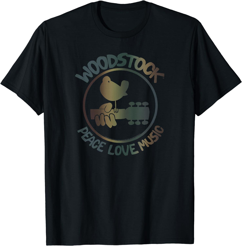 Woodstock - Technicolor Birdie T-Shirt