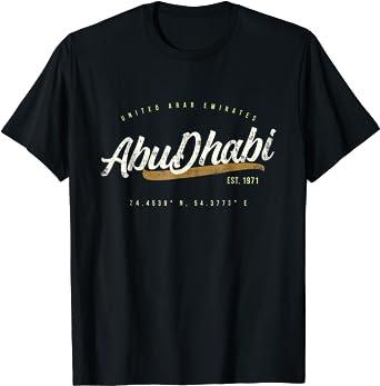 Abu Dhabi UAE Retro Travel T-Shirt