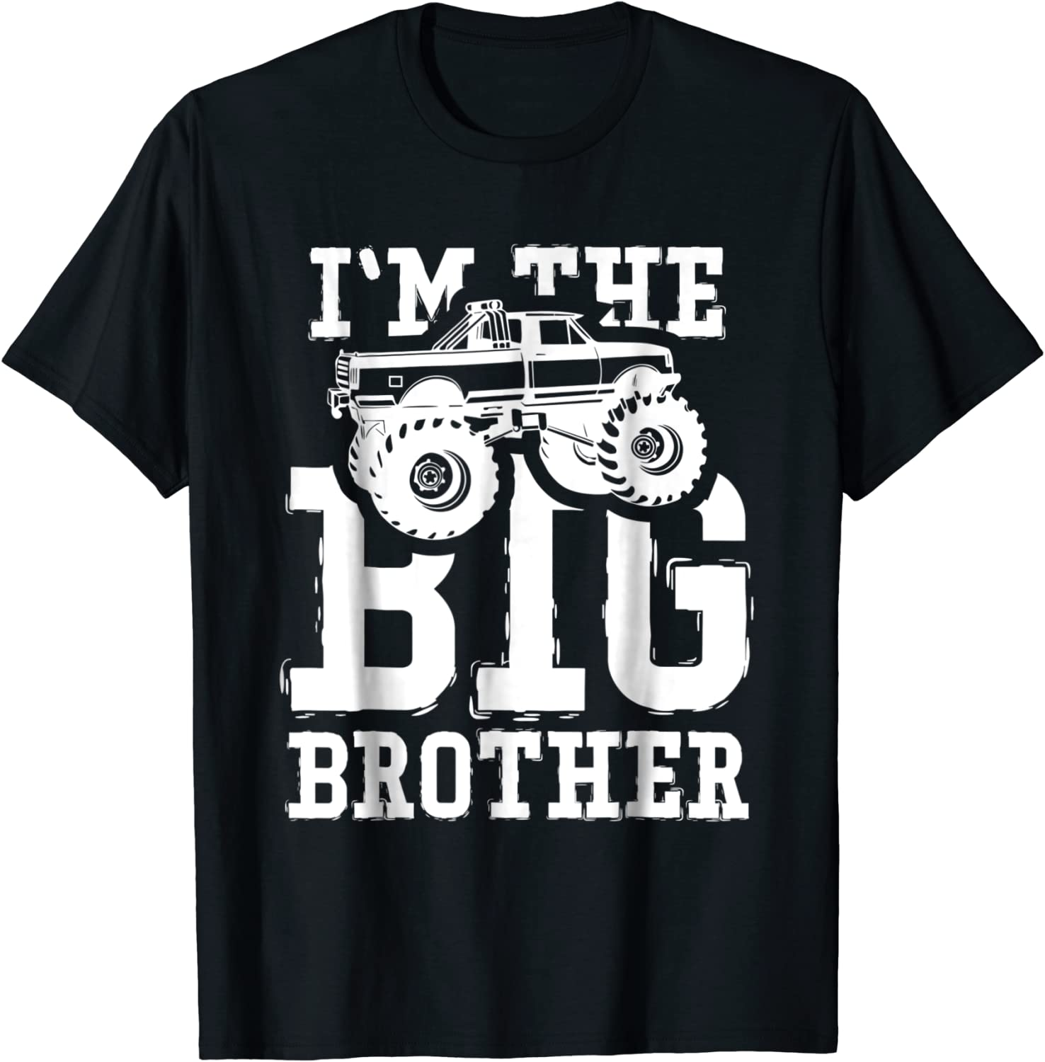 New Big brother Big Brother Shirt with Truck Big Brother. Baby announcement