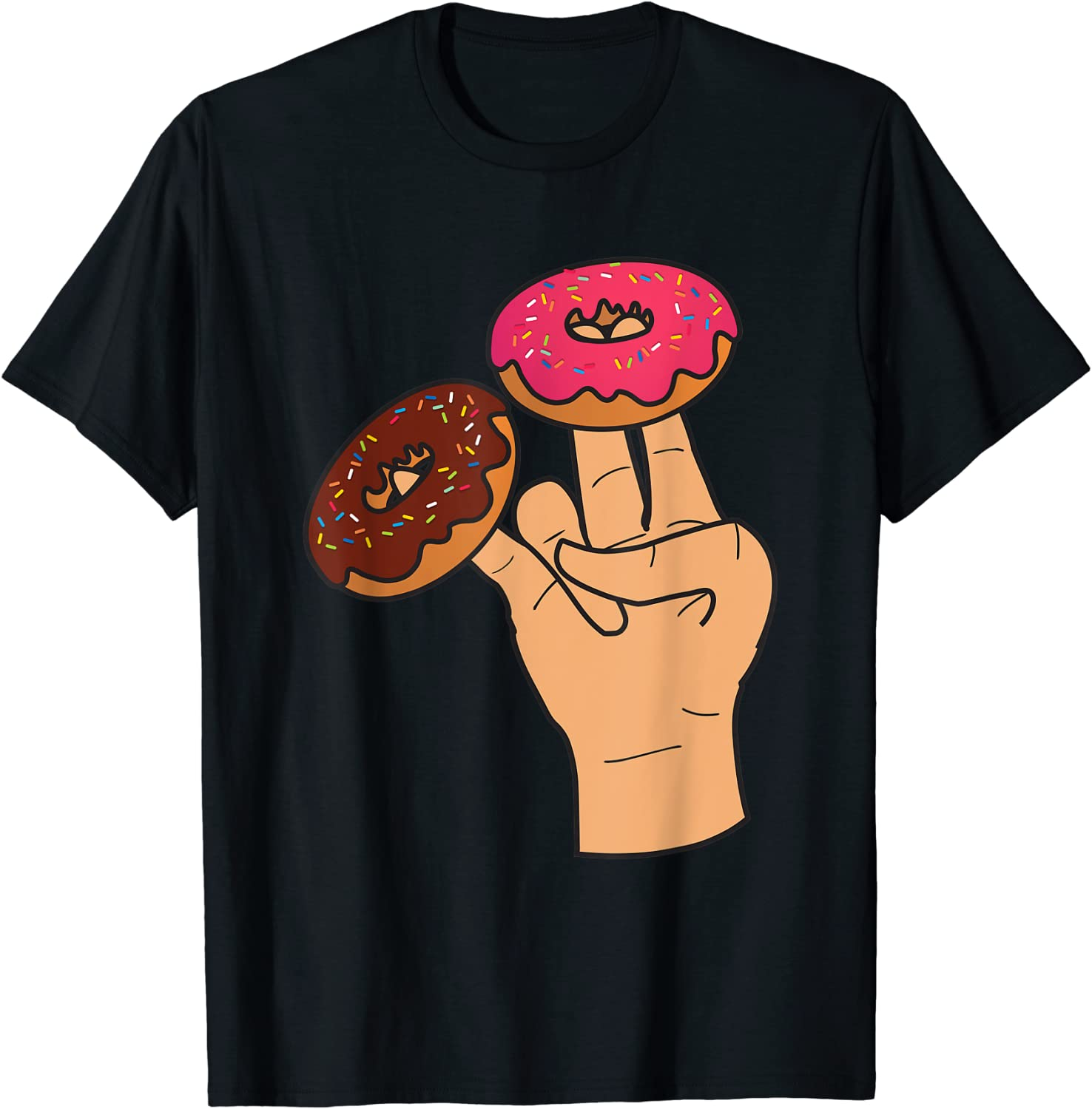 Two In The Pink One In The Stink Funny Shocker T-Shirt