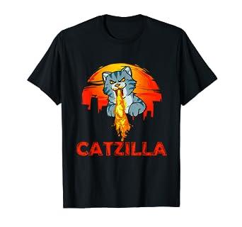 Amazon.com: Catzilla Kitten Fire Cat Monster Tokyo Burns ...