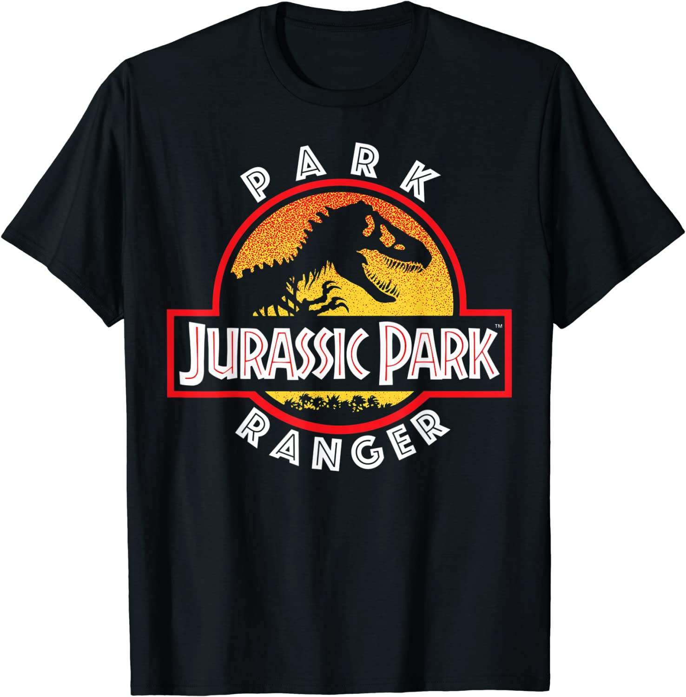 Jurassic Park Circle Park Ranger Graphic T-Shirt