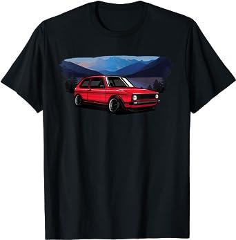 Automotive Apparel Retro Vintage German Car 70s 80s Tuning T-Shirt