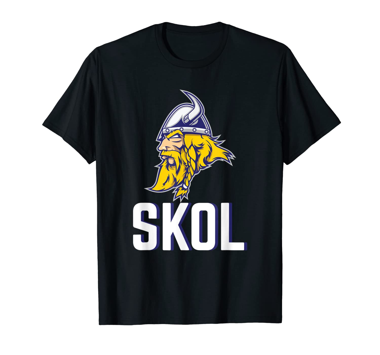 Skol Vikings Shirt - Nordic Scandinavian Viking Shirt-TH