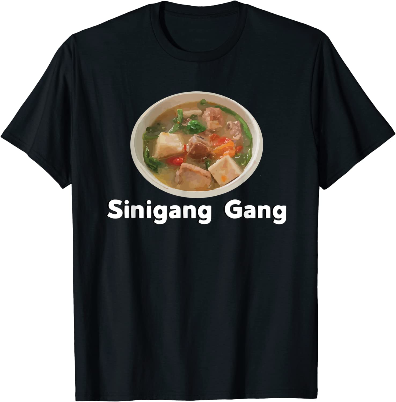 Sinigang Sour Filipino Soup Asian Food Tagalog T-shirt