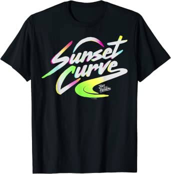 Julie And The Phantoms Sunset Curve Logo T-Shirt