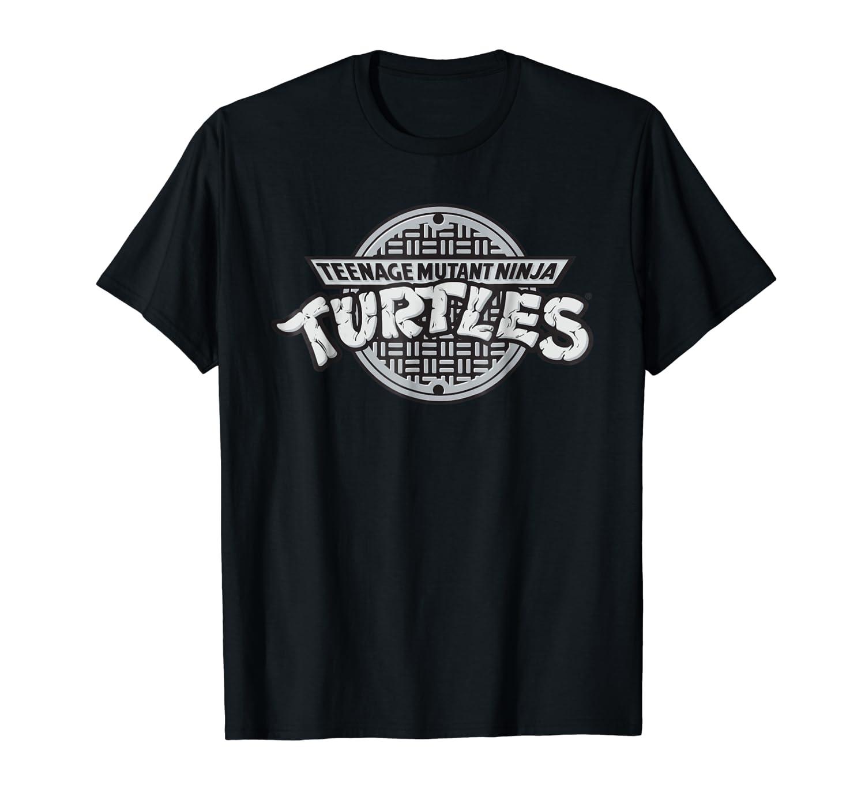 Teenage Mutant Ninja Turtles TMNT Sewer Logo Tee-Shirt