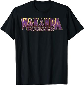 Marvel Black Panther Wakanda Forever Bold T-Shirt