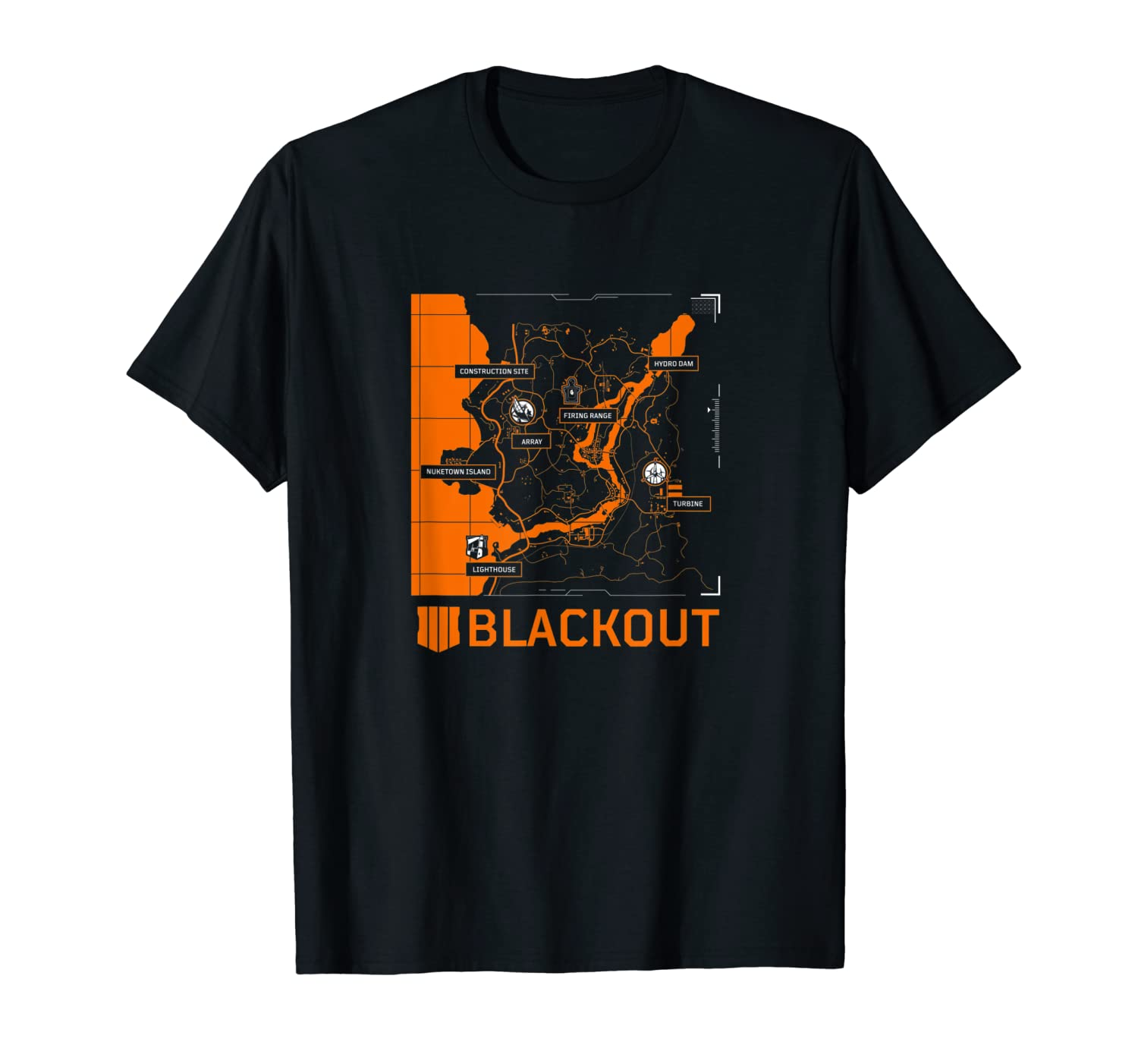 Call of Duty: Black Ops 4 - Blackout Map Tee