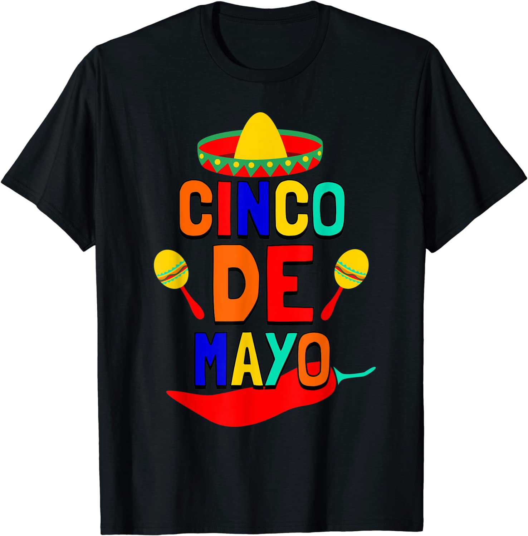 Cinco De Mayo T shirt. Fun Fiesta ...