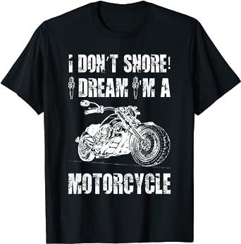 I Don/'t Snore I Dream I/'m a Motorcycle Mens Funny Biker Vest Motorbike Bike