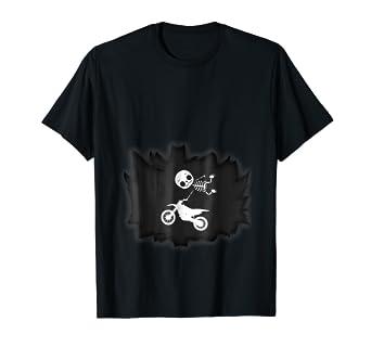 Amazon.com: Bebé Motocross Esqueleto playera embarazadas Mom ...