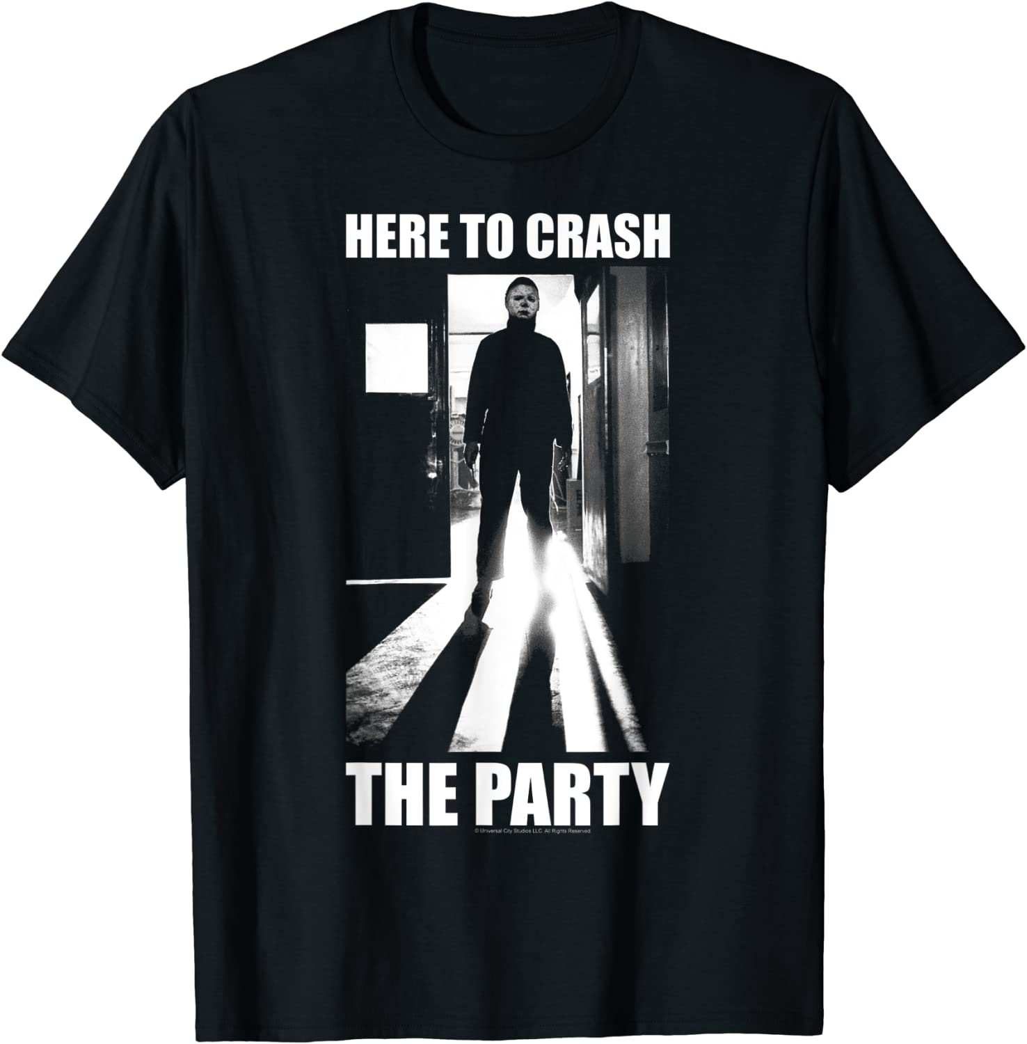 Halloween Michael Myers Popular shop is the lowest price challenge Here To Party T-Shirt Crash The Indefinitely