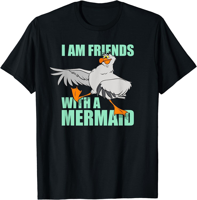 Disney The Little Mermaid Scuttle Friends with a Mermaid T-Shirt
