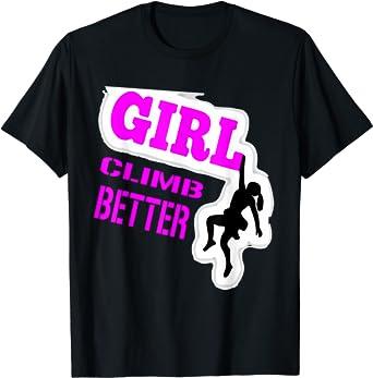Rock Climbing for Girls | Kids Rock Climbing T-Shirt