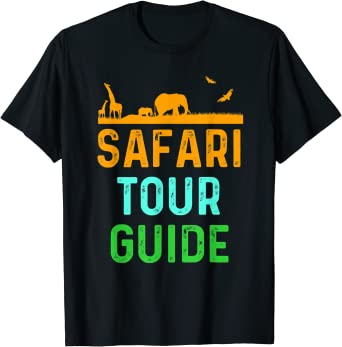 Safari Tour Guide - Travel Guide Vacation Guide T-Shirt