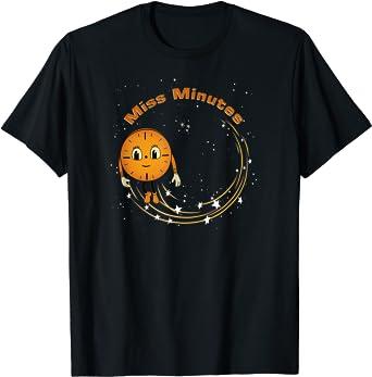 Marvel Loki Miss Minutes Clock Stardust T-Shirt
