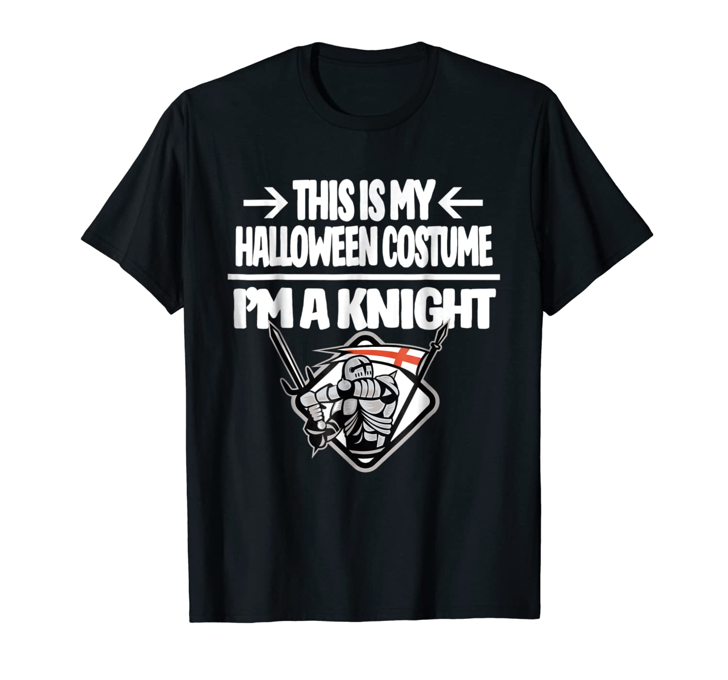 Knight Halloween Costume Shirt - Fun For Trick or Treating