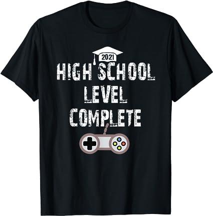 Funny Graduation Shirt Gifts For High School Graduates