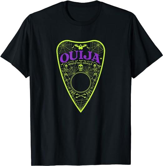 Ouija Neon Planchette Camiseta