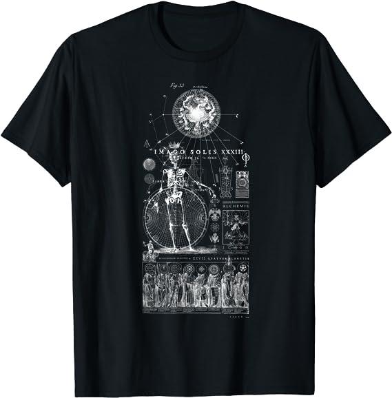 Chakras of Alchemy Kundalini CADUCEUS Occult Sweatshirt