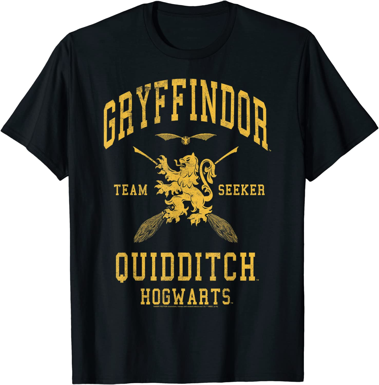 Harry Potter Gryffindor Team Seeker Hogwarts Quidditch T-Shirt