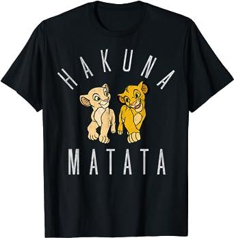 Disney Lion King Simba Nala Hakuna Matata T-Shirt