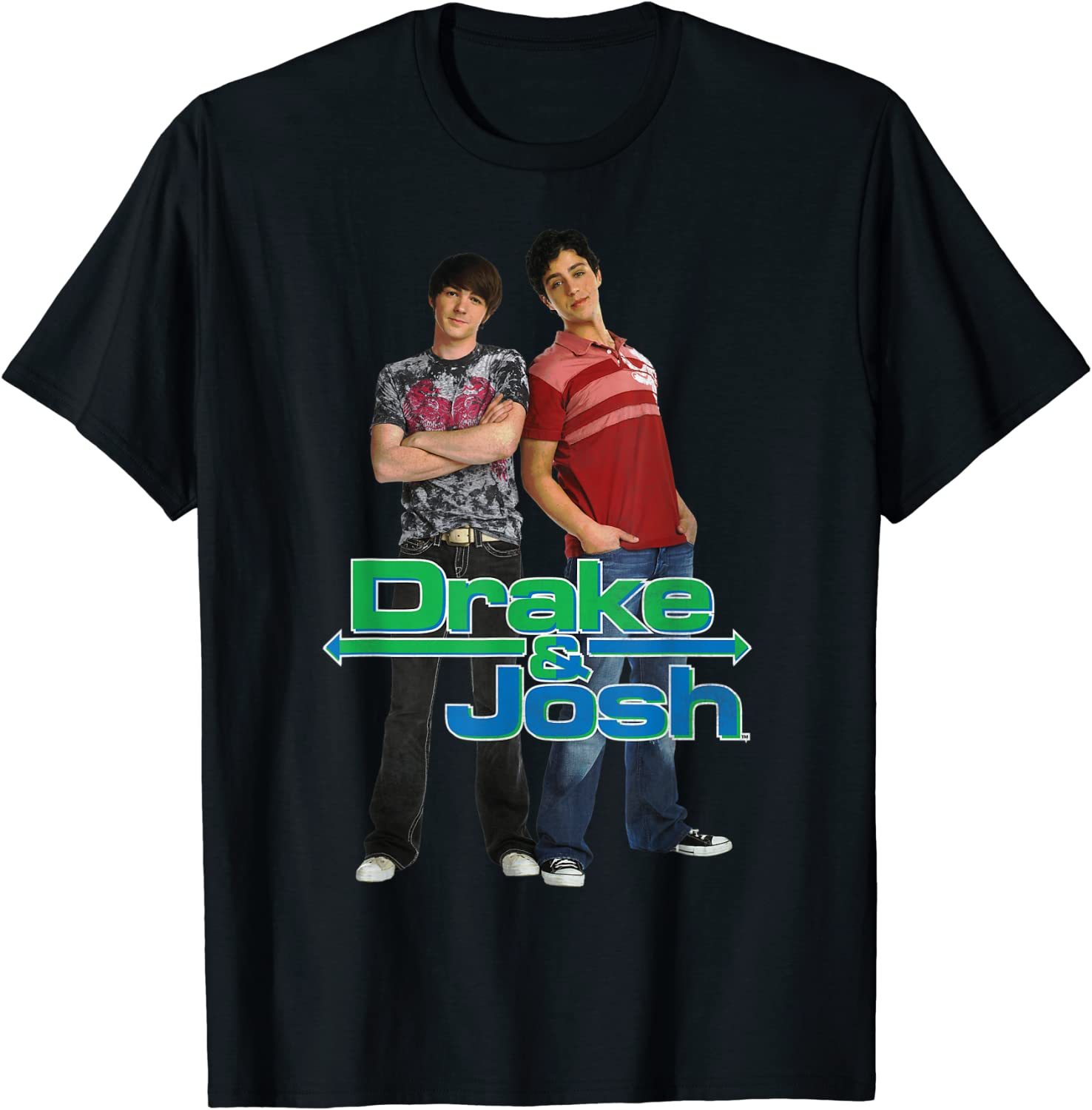 Drake And Josh Classic With T-Shirt Logo Free shipfree shipping on posting reviews Characters