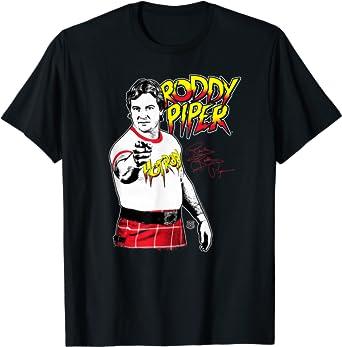 WWE Roddy Piper 3 Color Retro T-Shirt
