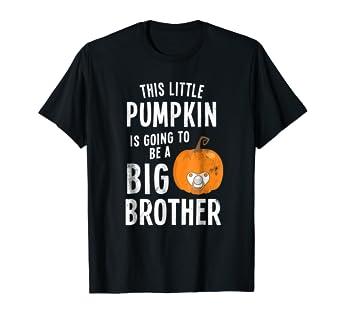 Amazon.com: Funny Halloween calabaza bebé Anuncio Camisa Big ...