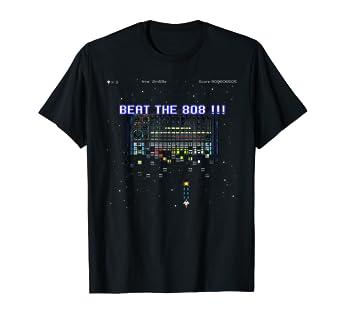 808 Drum Machine 80s Retro Video Game synthwave T shirt