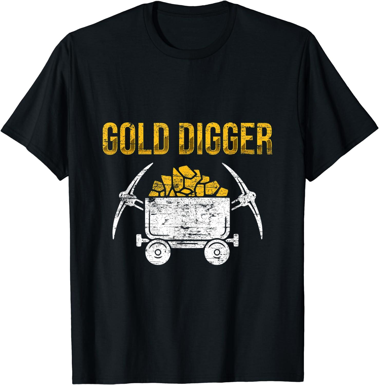 Amazon.com: Gold Digger Veins of Gold Miner Cash Funny