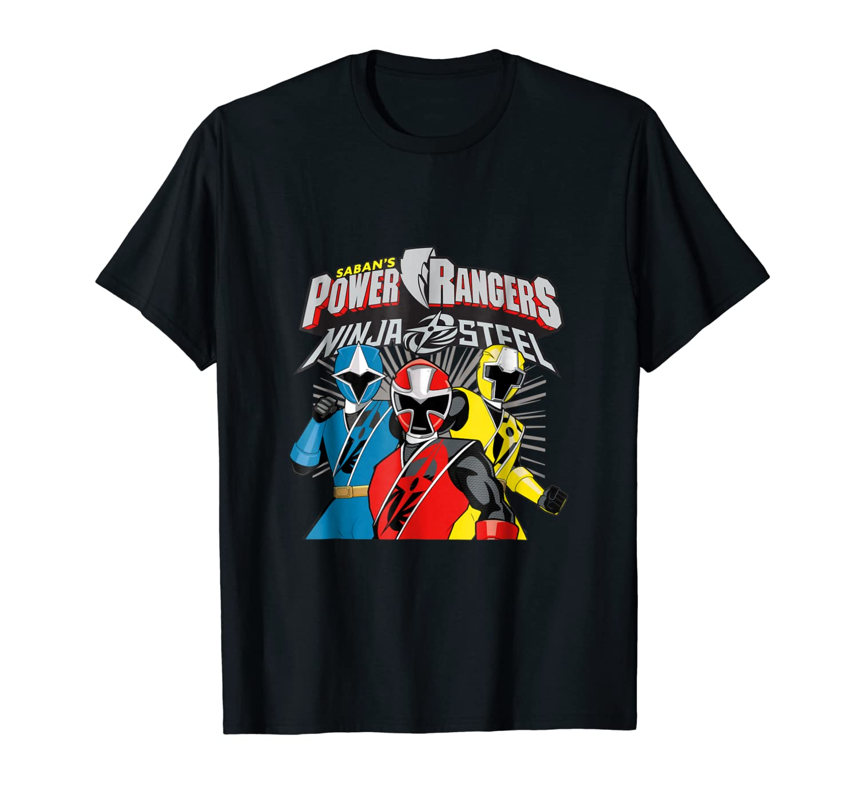 Power Rangers Super Ninja Steel T- Shirts