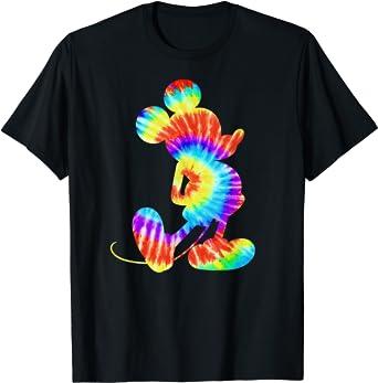 Disney Mickey Mouse Retro Tie- Dye T-Shirt