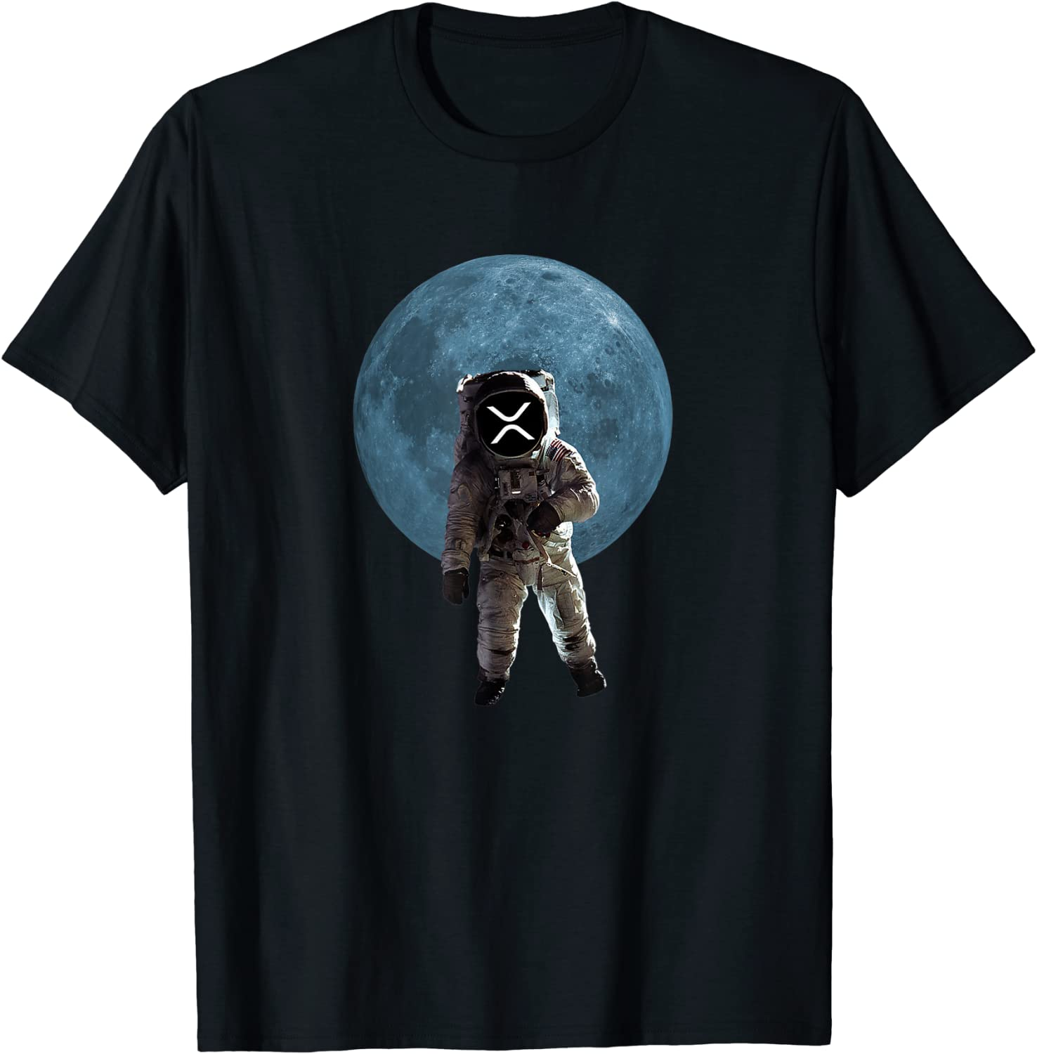 XRP Merchandise Cryptocurrency Gift Blockchain Crypto T-Shirt