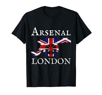 Amazon.com: Arsenal London - Camiseta de fútbol con diseño ...