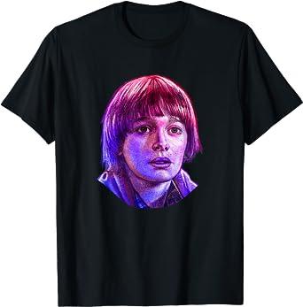Stranger Things Will Rose Tone Portrait T-Shirt