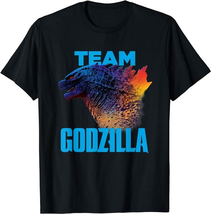 Godzilla vs Kong - Official Team Godzilla Neon Maglietta