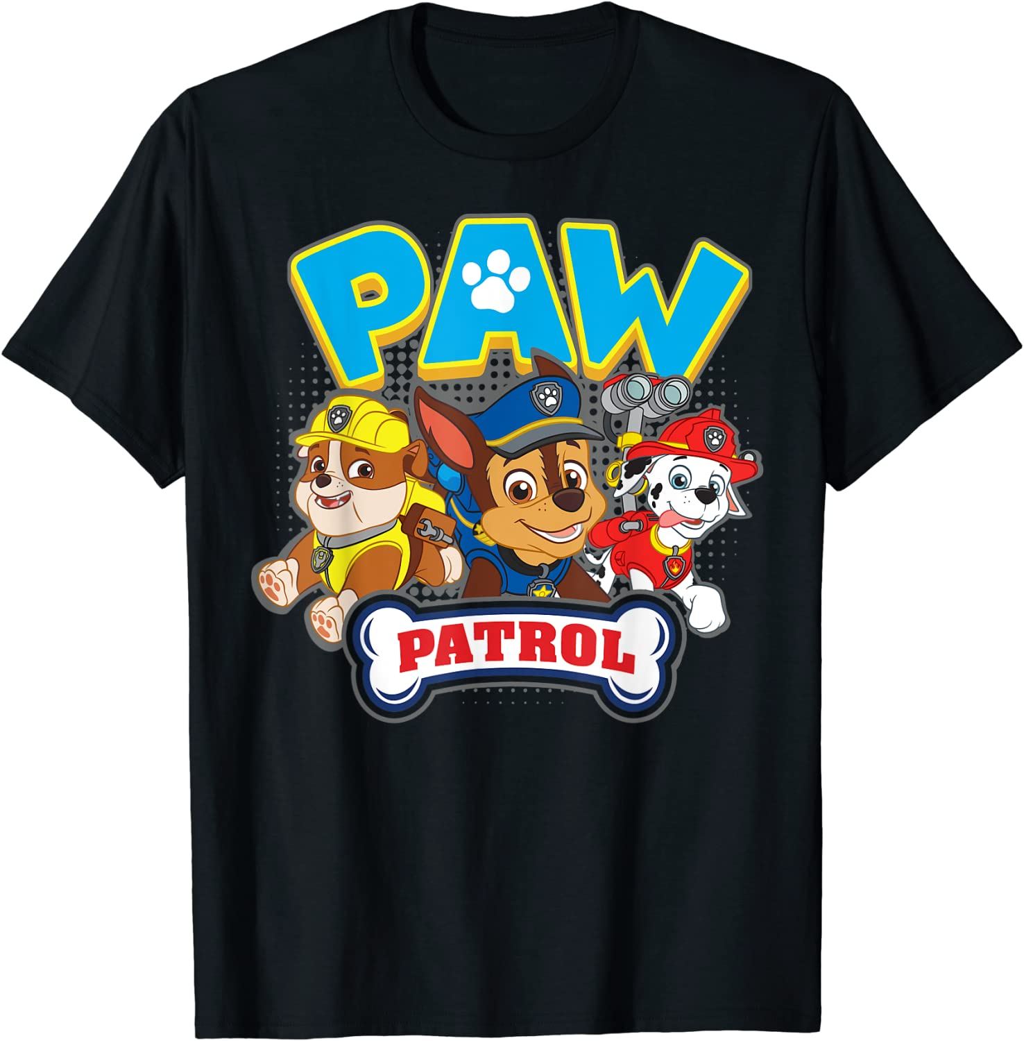 PAW Patrol Group (Chase,Marshall,Rubble) T-shirt