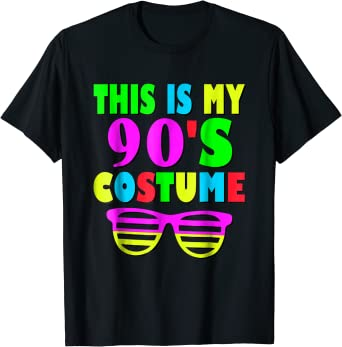 This Is My 90-s Costume T-Shirt 80's 90's Party Tee
