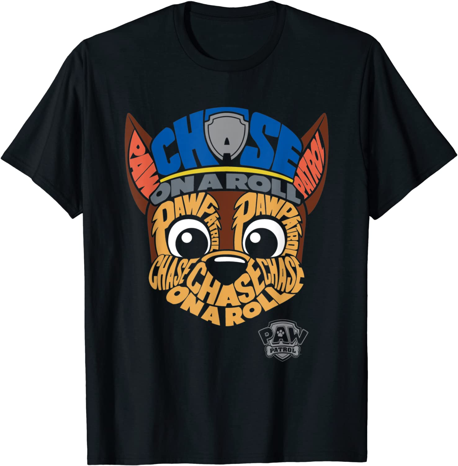 PAW Patrol Chase Face T-Shirt