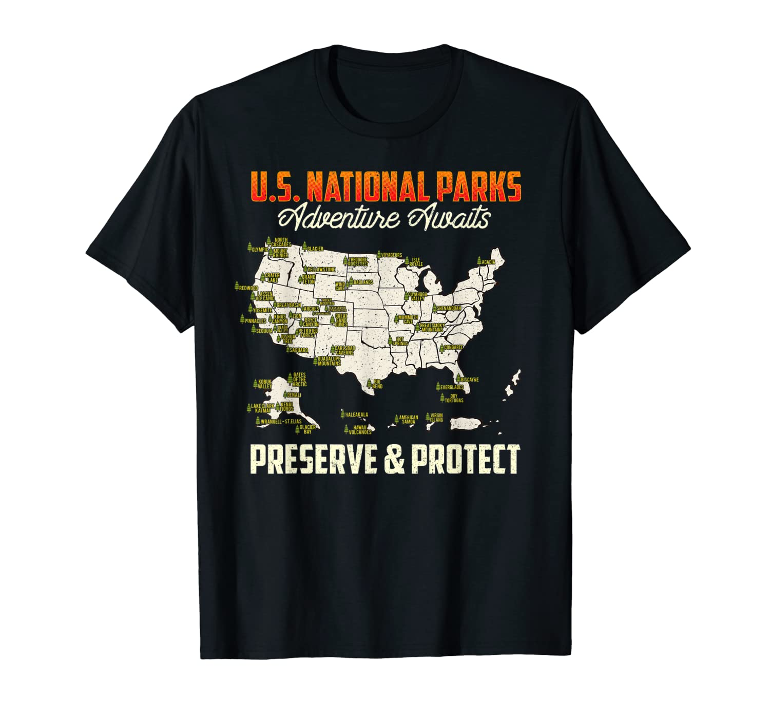 Amazon.com: US National Parks Camping and Hiking Adventure ...